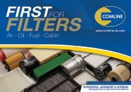 Comline - First for Filters Catalogue