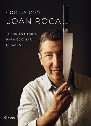 Capitulo libro de cocina - COCINA CON JOAN ROCA