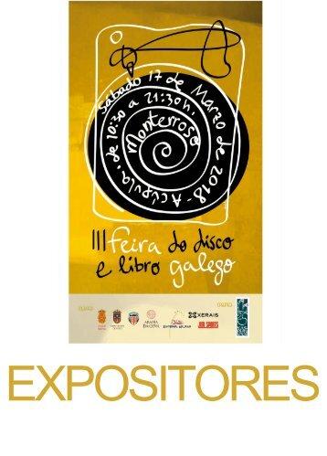 EXPOSITORES FEIRA DISCO E LIBRO GALEGO 2018