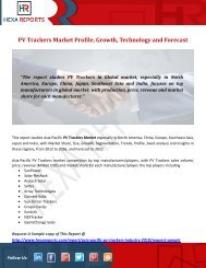 PV Trackers Market Profile, Growth, Technology and Forecast