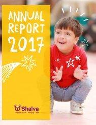 Shalva National Center 2017 Annual Report