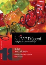 VIP Präsent -süsse werbeideen