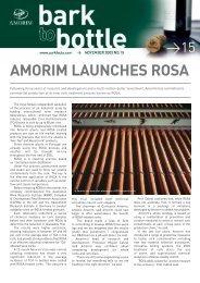 AMORIM LAUNCHES ROSA - Amorim CorkFacts