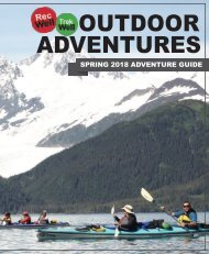 NIU Outdoor Adventures Spring 2018 Adventure Guide