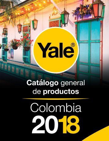 Catálogo de Productos Yale Colombia 2018.