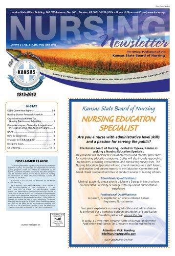 Nursing Newsletter - April 2018