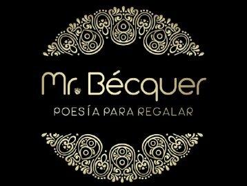 CATÁLOGO MR BECQUER