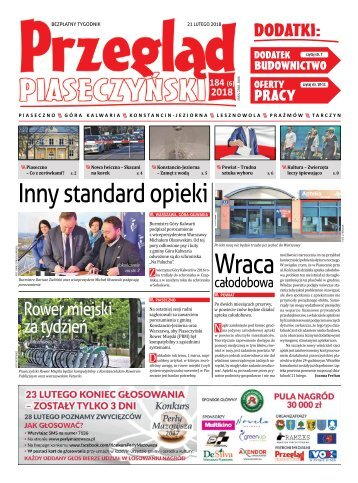 Przegląd Piaseczyński, wydanie 184