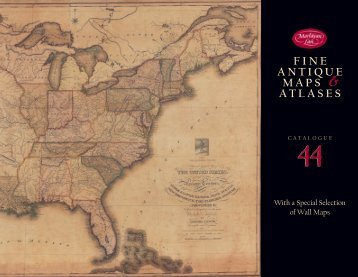 Catalogue 44: Fine Antique Maps & Atlases - Martayan Lan