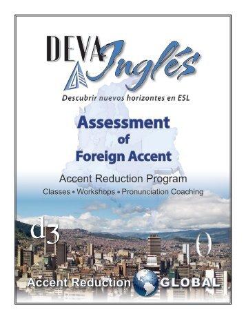 DEVA Inglés_Assessment_Full Program