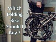 Folding Bike Under £200 | Best Folding Bicycles in 2018