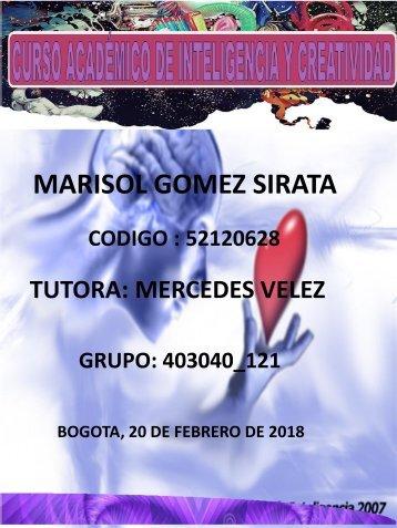CURSO ACADEMICO DE INTELIGENCIA Y CREATIVIDAD