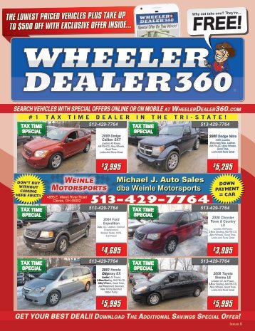 Wheeler Dealer 360 Issue 8, 2018