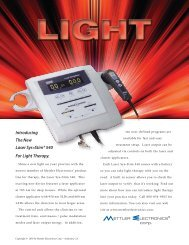 Introducing The New Laser Sys*Stim® 540 For Light Therapy.