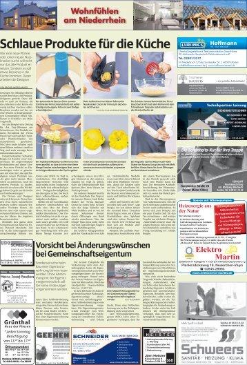 Wohnfühlen am Niederrhein  -21.02.2018-