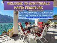 Patio Chair Repair in the USA