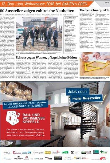12. Bau- und Wohnmesse 2018  -21.02.2018-