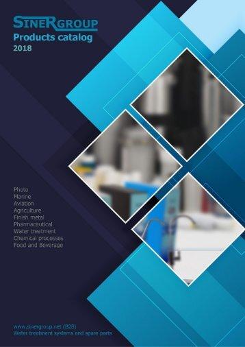 21/02/2018 Sinergroup - Ozone generator Catalog