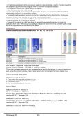 21/02/2018 Sinergroup - Reverse Osmosis Membranes Catalog - Page 5