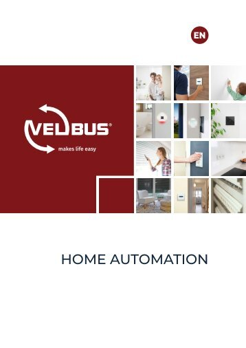 Velbus Home Automation Catalogue 2018