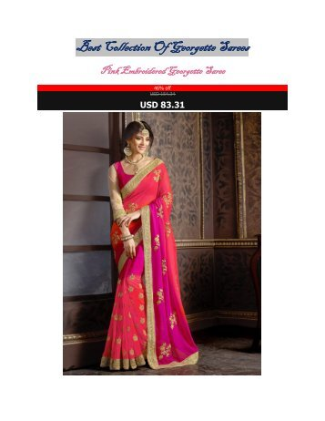 Best_Collection_Of_Georgette_Sarees