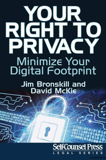Your Right To Privacy - Minimize Your Digital Footprint - Legal Series