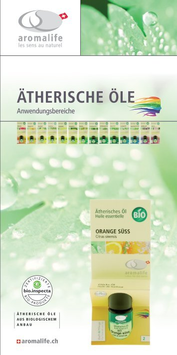 Aromalife Top14 ätherische Öle