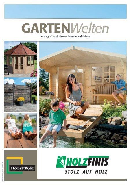 Holz Finis Gartenkatalog 2018