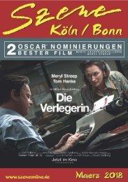 Szene Köln-Bonn, Ausgabe 03.2018