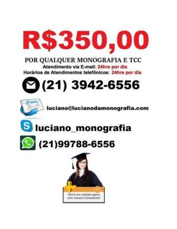 Monografia e tcc por R$ 350,00  em    Ananindeua