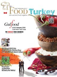 FoodTurkey March/April 2018