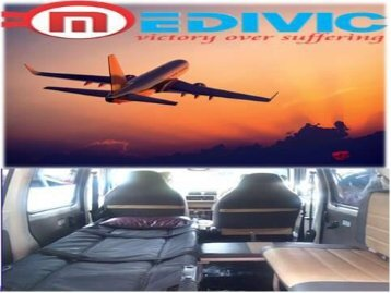 Hire Advanced Medical Facilities Air Ambulance Guwahati