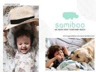 2018 Winter Spring Samiboo Lookbook