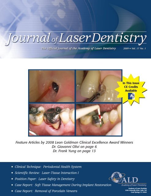 Dental Lasers - Academy of Laser Dentistry