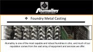 Pressure Casting in OH | Alumalloy Metalcastings