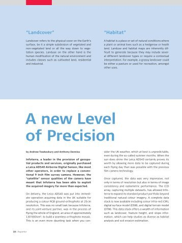 A new Level of Precision - Leica Geosystems Americas - Business ...