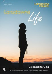 Lansdowne Life 12 March 2018