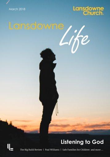 Lansdowne Life 12 March 2018