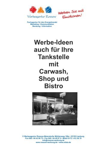 Tankstellen-Werbung
