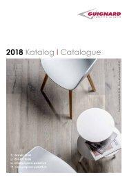 GUIGNARD Parkett  Katalog 2018