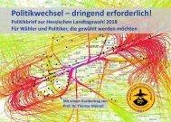 Poiltikbrief zur Hessischen Landtagswahl 2018 (Stand 21.02.2018)