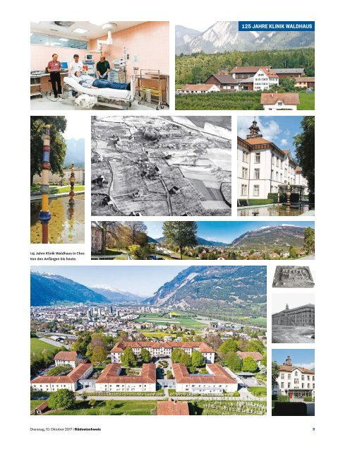 Südostschweiz Sonderbeilage – 125 Jahre Klinik Waldhaus Chur