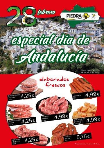 Supermercados PIEDRA nuestros frescos y pescaderia hasta 5 de marzo 2018