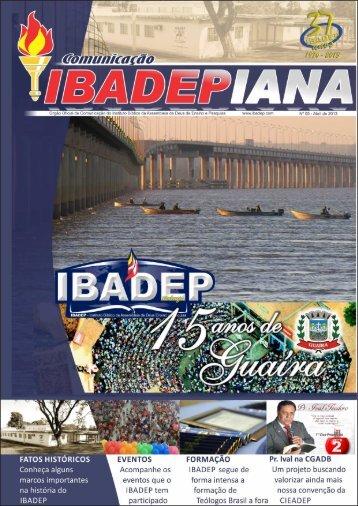 Comunicação Ibadepiana - 05ª Edição