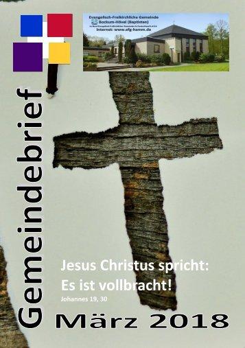 Gemeindebrief Maerz 18