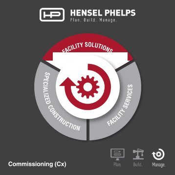 Hensel Phelps Services - Commissioning Flip Book - Digital Brochure 2.21.2018