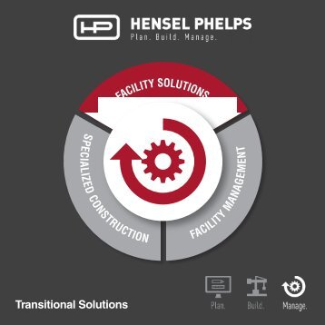 Hensel Phelps Services - Transitional Services - Digital Brochure
