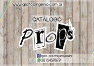 Catalogo Props Grafica Ingenio