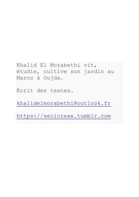 CTRL ALT - Khalid EL Morabethi