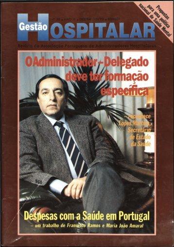Gestão Hospitalar N.º30 1995